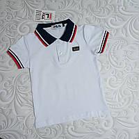 Белая футболка поло Fila детская