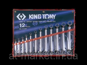 Набір ключів накидних King Tony 12 шт. (6-32 мм) 1712MR