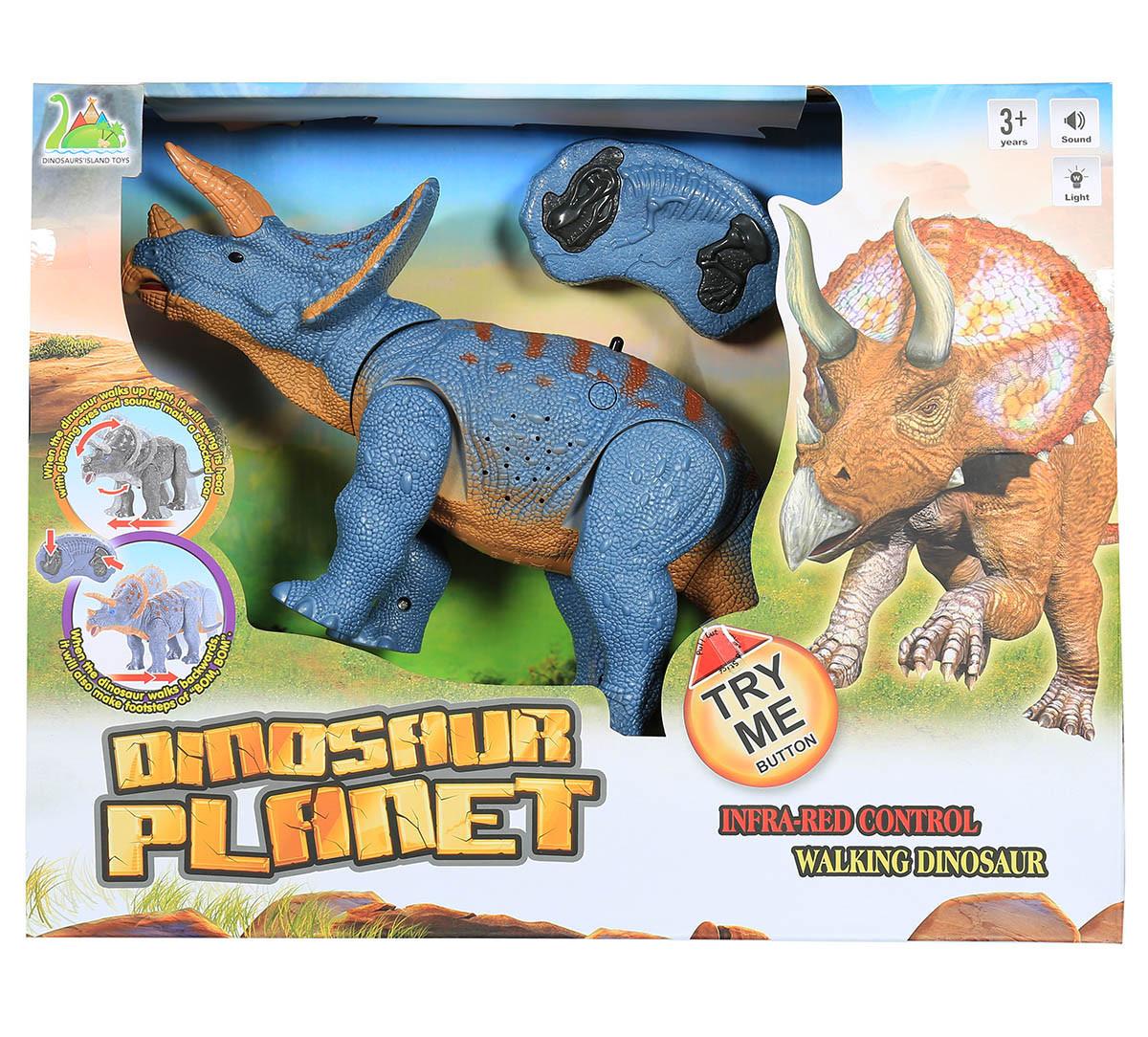 Интерактивный динозавр Трицератопс на радиоуправлении RS6137A