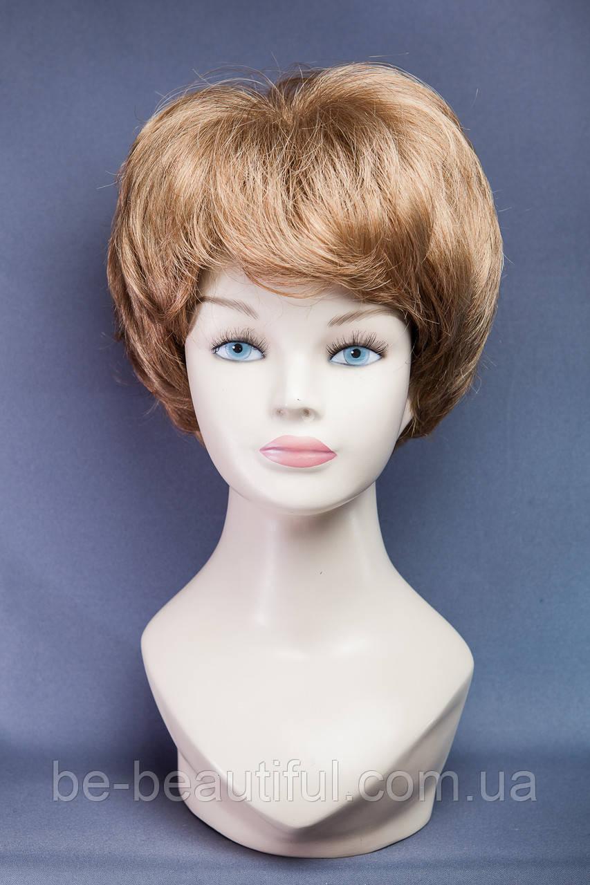 Короткие парики №8,цвет светло-русый с золотинкой