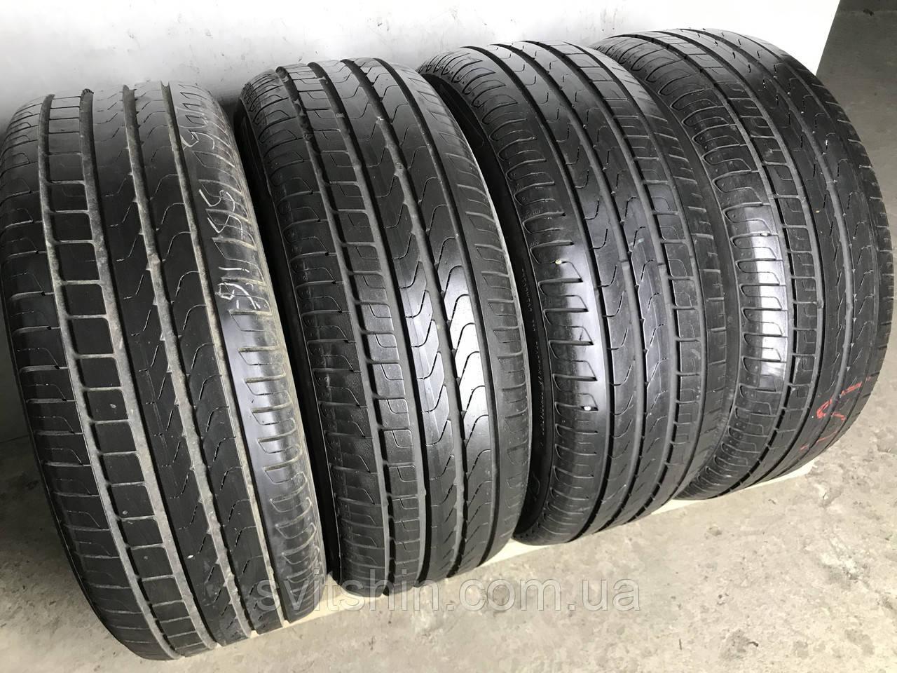 Шины бу летние 205/55R16 Pirelli Cinturato P7 (6,5-7мм) 4шт