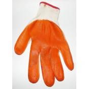Перчатки синтетика, оранжевые