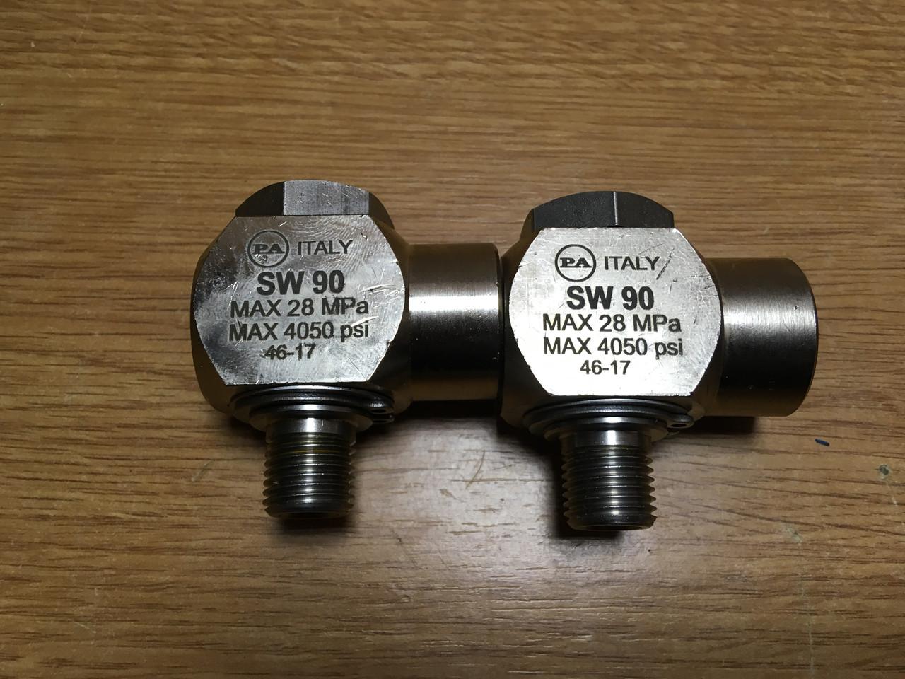 Поворотний адаптер на пантограф SW 90