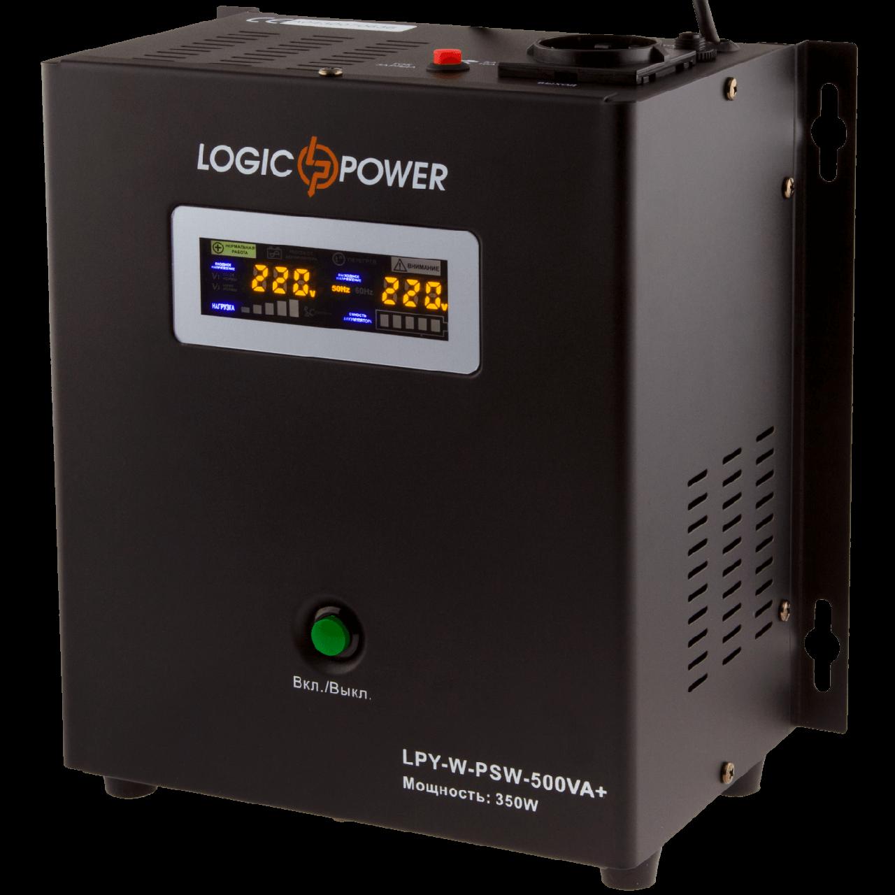 ИБП Logicpower LPY-W-PSW-500VA +