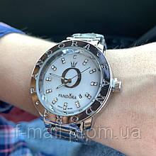 Женские наручные часы Pandora белый циферблат(реплика)
