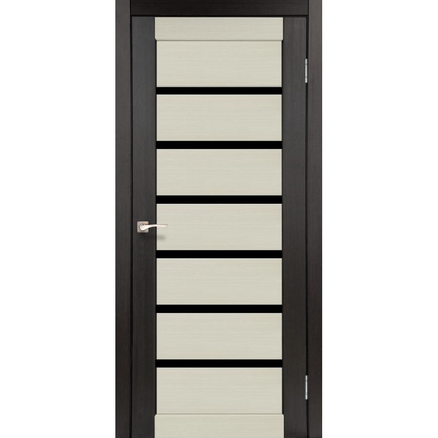 Двери KORFAD PCD-01 Полотно+коробка+2 к-та наличников+добор 100мм, эко-шпон