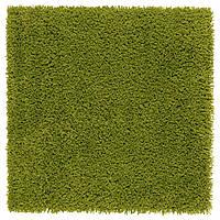 IKEA HAMPEN Ковер с длинным ворсом, ярко-зеленый  (502.037.88) Гарантована наявність!!!