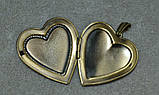 Медальон сердце. на 2 фото. , фото 3