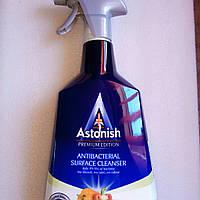 Средство Астониш для дезинфекции кухни и ванной Astonish Antibacterial Surface Cleanser 750 мл.