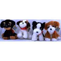 Мягкие игрушки Собаки 20cm №1597-1, мягкие игрушки для детей и взрослых,качественный,праздничные подарки