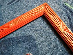Рамка резная из дерева, фото 3
