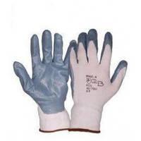 Перчатки синтетика, серые