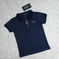 Синяя футболка поло Philipp Plein детская, фото 1