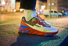 Мужские кроссовки Nike React Element 87 x Undercover Red White Blue ( Реплика ) 43 размер, фото 2