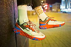 Мужские кроссовки Nike React Element 87 x Undercover Red White Blue ( Реплика ) 43 размер, фото 3