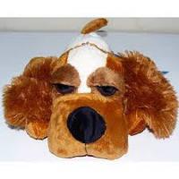 Мягкая игрушка Собака глазастая №1518-32, мягкие игрушки для детей и взрослых, качественный, праздничные подар