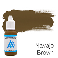 Пигмент для татуажа Aqua Navajo Brown 15 мл