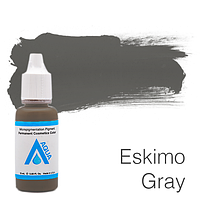 Пигмент для татуажа Aqua Eskimo Gray 15 мл