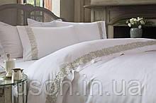 Комплект постельного белья сатин люкс Pepper home евро размер oliver gumus