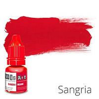 Пигмент для татуажа WizArt Organic Sangria 5 мл