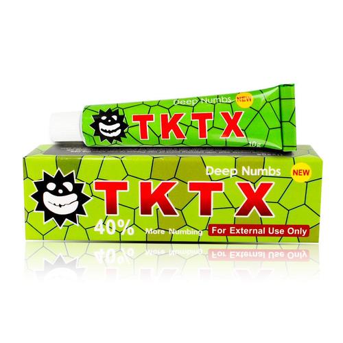 Анестезия для татуажа и тату TKTX Green 40% 10 г