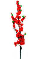 Ветка сакуры красная (125 см)(5шт/уп)