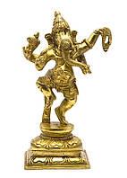 Ганеша  бронза (15х8,5х5,6 см) (Ganesh Dancing med MT)