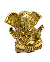 Ганеша бронзовый (13х12х6 см)(Ganesh Open Ear med CH)
