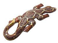 Гекон деревянный (14х1,5х50 см)(AR1834S)