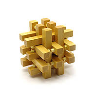 Головоломка деревянная (7,5х7,5х7,5 см)