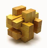 Головоломка деревянная (7,5х7,5х7,5см)