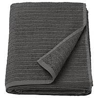 IKEA VAGSJON Банное полотенце, темно-серый  (503.536.12), фото 1