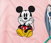 Термоаппликации на одежду для беременных Микки [Свой размер и материалы в ассортименте], фото 1