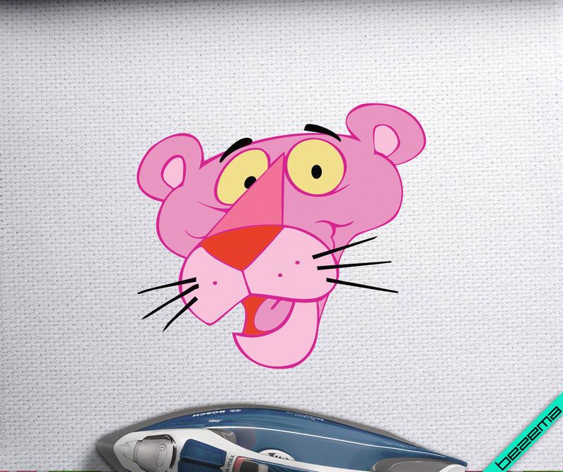 Дизайн на джинсы Розовая Пантера [Свой размер и материалы в ассортименте]
