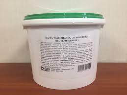 Томатная паста 25% ведро 5 кг