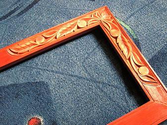 Рамка різьблена з дерева, фото 2
