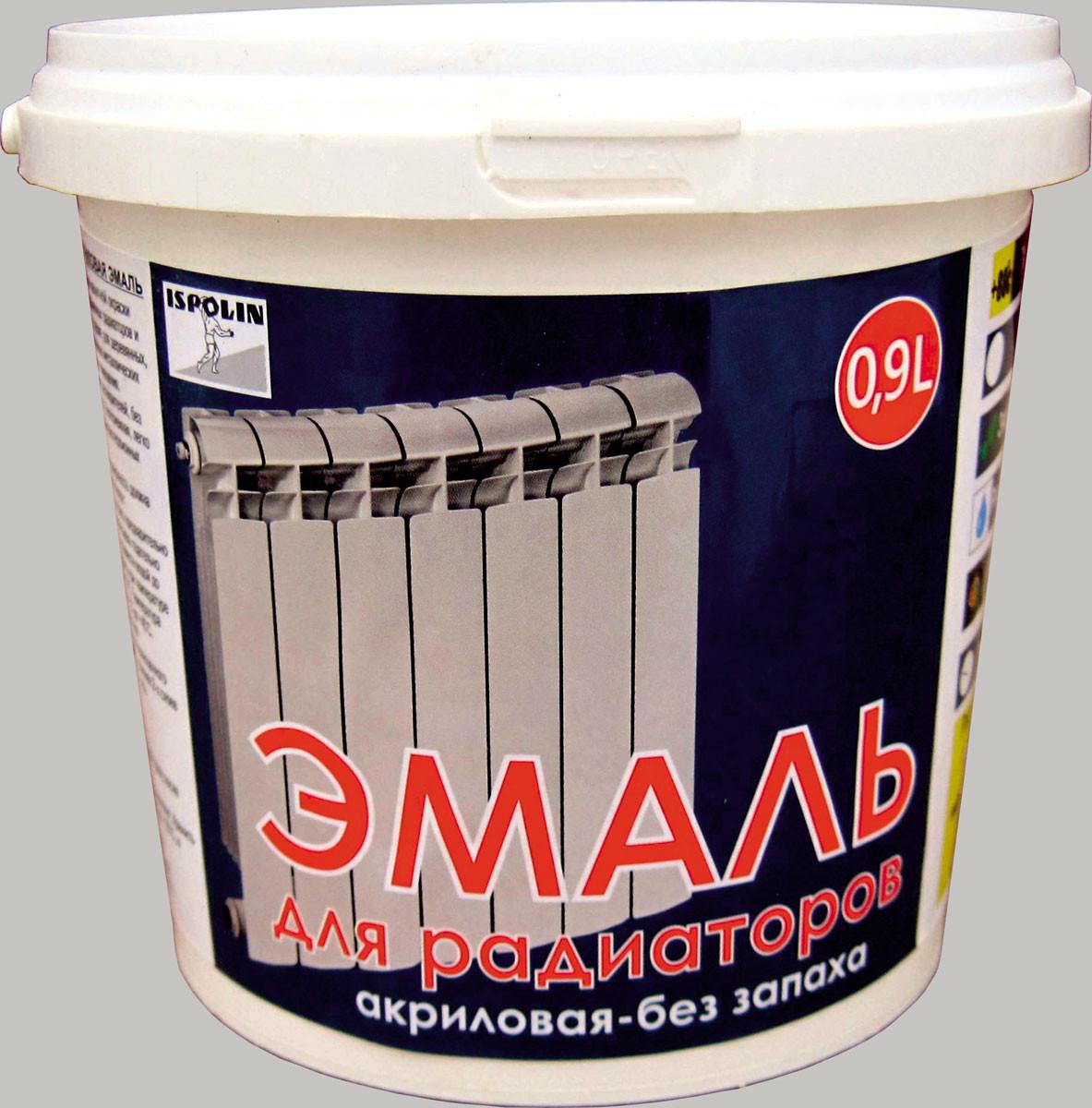 IspoLin Емаль акрилова для радіаторів (0,45 л)