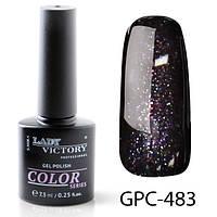 Гель лак Lady Victory с мерцанием GPC-483