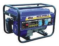 Генератор электрического тока, бензиновый для частного дома WERK  WPG3600A