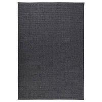 IKEA MORUM Ковер для улицы темно-серый  (402.035.57)