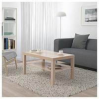 Журнальный столик IKEA LACK, дуб окрашенный в белый цвет  (503.190.29)