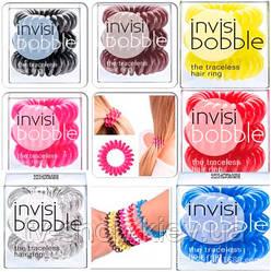 Резиночки Invisi Bobble 3 шт. в наборе (15 цветов)