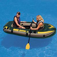 Двухместная надувная лодка Intex 68347
