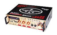 Усилитель звука UKC SN-802BT USB+SD+FM+Karaoke, фото 2