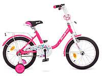 """Велосипед детский Profi Y1682 Flower 16""""."""