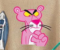 Дизайн на трикотаж Розовая Пантера [Свой размер и материалы в ассортименте]