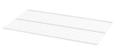 Полка для стеллажной системы Larvij  белая 1000×520 мм L99F90WH