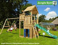 Детская площадка Джангл Джим Palace & Swing Module & Playhouse Module, фото 1