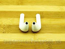 I7 TWS AirPods HBQ копия apple, Bluetooth наушники гарнитура, белая, фото 3
