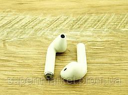 Apple AirPods i7S, IX TWS копия, Bluetooth headset стерео гарнитура с кейсом, белая, фото 3